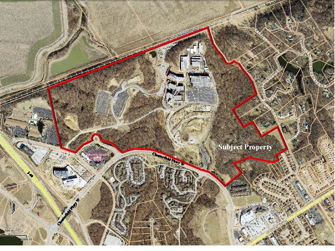 monsanto chesterfield campus map City Of Chesterfield Missouri monsanto chesterfield campus map